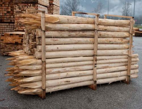 pali in legno