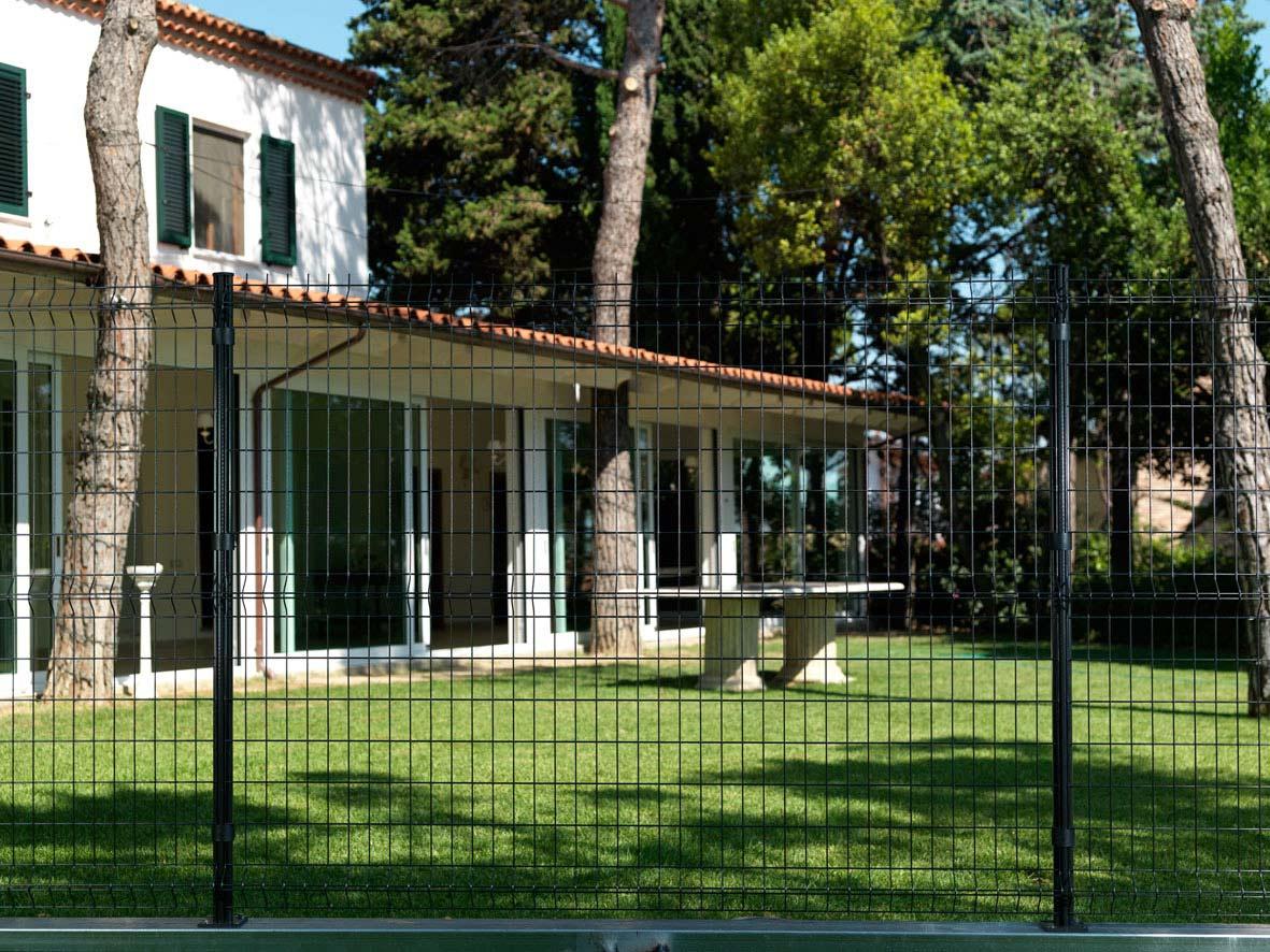 Recinzione Giardino In Ferro recinzioni per il giardino e l'agricoltura   geo3